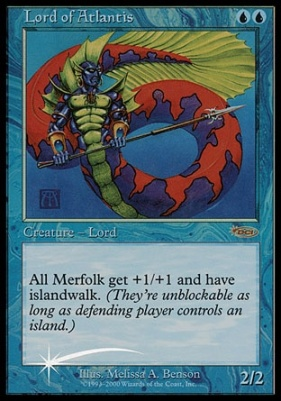 Promotional: Lord of Atlantis (JSS Foil)