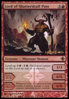 Promotional: Lord of Shatterskull Pass (Release Foil)