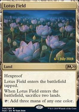 Promotional: Lotus Field (Prerelease Foil)