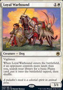 Promotional: Loyal Warhound (Prerelease Foil)