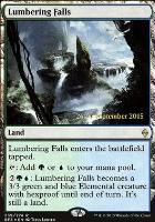 Promotional: Lumbering Falls (Prerelease Foil)