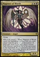 Promotional: Magister of Worth (Launch Promo Foil)