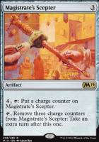 Promotional: Magistrate's Scepter (Prerelease Foil)