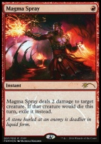 Promotional: Magma Spray (FNM Foil)