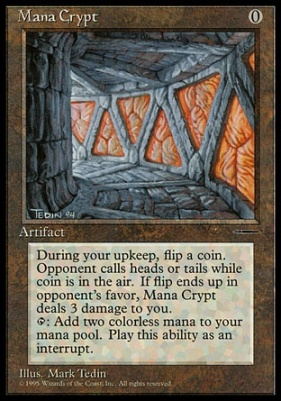 Promotional: Mana Crypt (Book)