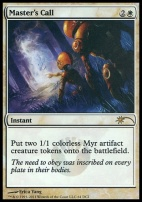 Promotional: Master's Call (WPN Foil)
