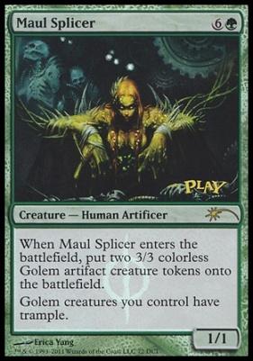 Promotional: Maul Splicer (WPN Foil)
