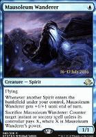 Promotional: Mausoleum Wanderer (Prerelease Foil)