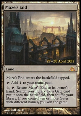 Promotional: Maze's End (Prerelease Foil)