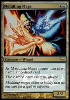 Promotional: Meddling Mage (Judge Foil)