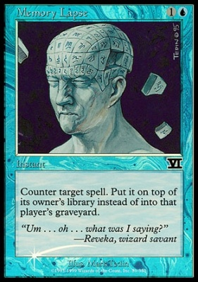 Promotional: Memory Lapse (Judge Foil)