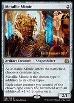 Promotional: Metallic Mimic (Prerelease Foil)