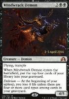 Promotional: Mindwrack Demon (Prerelease Foil)