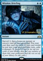 Promotional: Mission Briefing (Prerelease Foil)
