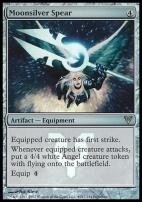 Promotional: Moonsilver Spear (Prerelease Foil)