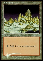 Promotional: Mountain (Arena 2001 Foil)