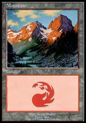 Promotional: Mountain (Euro Set Red)