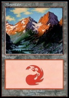 Promotional: Mountain (Euro Set Red)