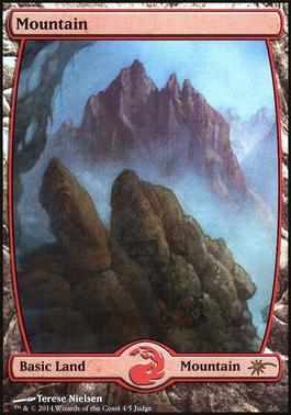 Promotional: Mountain (Full-art Judge Foil)