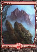 Promotional: Mountain (Full-art Judge Foil)