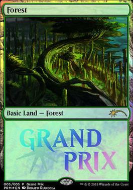 Promotional: Forest (Grand Prix Foil)