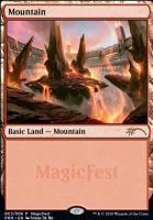 Promotional: Mountain (MagicFest Foil - 2020)
