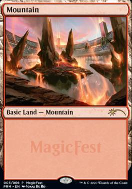 Promotional: Mountain (MagicFest Non-Foil - 2020)