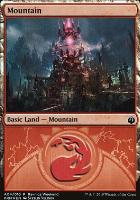 Promotional: Mountain (Ravnica Weekend - A04 Foil)
