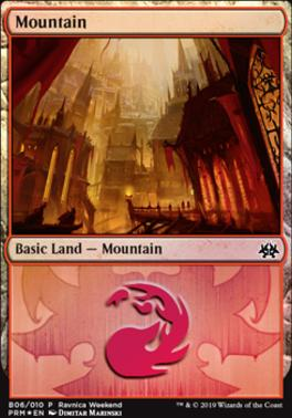 Promotional: Mountain (Ravnica Weekend - B06 Foil)