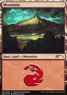 Promotional: Mountain (Standard Showdown 2017)