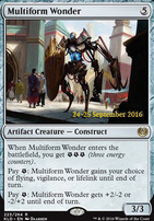 Promotional: Multiform Wonder (Prerelease Foil)
