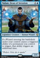 Promotional: Naban, Dean of Iteration (Prerelease Foil)