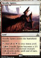 Promotional: Needle Spires (Prerelease Foil)