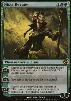 Promotional: Nissa Revane (Duels of the Planeswalkers Foil)