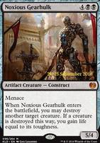 Promotional: Noxious Gearhulk (Prerelease Foil)