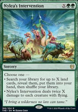 Promotional: Nylea's Intervention (Prerelease Foil)