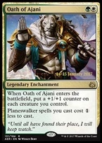 Promotional: Oath of Ajani (Prerelease Foil)