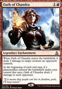 Promotional: Oath of Chandra (Prerelease Foil)