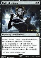 Promotional: Oath of Liliana (Prerelease Foil)
