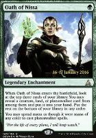 Promotional: Oath of Nissa (Prerelease Foil)