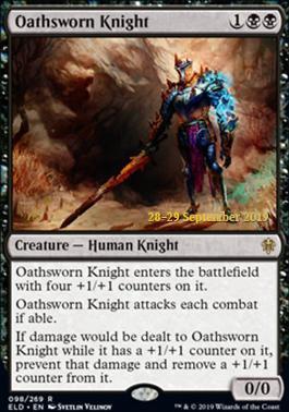 Promotional: Oathsworn Knight (Prerelease Foil)