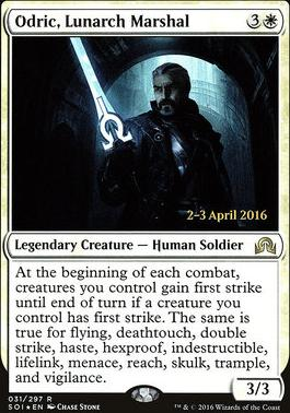 Promotional: Odric, Lunarch Marshal (Prerelease Foil)
