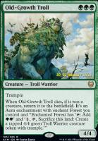 Promotional: Old-Growth Troll (Prerelease Foil)