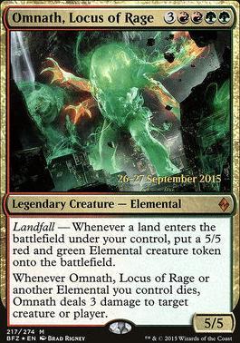 Omnath Locus Of Rage Art