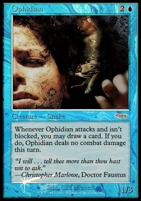 Promotional: Ophidian (FNM Foil)