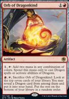 Promotional: Orb of Dragonkind (Prerelease Foil)