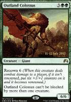 Promotional: Outland Colossus (Prerelease Foil)