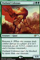 Promotional: Outland Colossus (Store Foil)