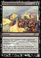 Promotional: Overwhelming Forces (Judge Foil)
