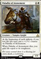 Promotional: Paladin of Atonement (Prerelease Foil)